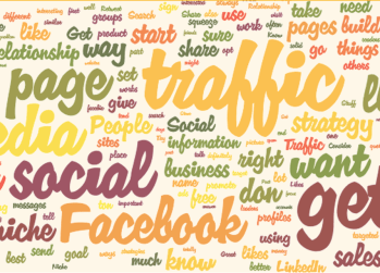 social media traffic graphic