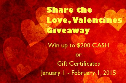 share the love valentines giveaway 2015