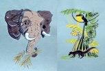 Elephant & South American Wildlife - Patricia Howitt