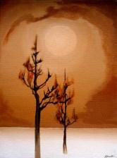 Burnout - Oils on Board - Patricia Howitt