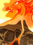 Volcano Spirit - Acrylic - Patricia Howitt