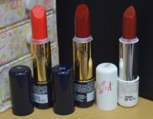Viva Lipstick no. 6 & 24 dan Red-A Lipstick no. 612 | My Dandelion Dreams