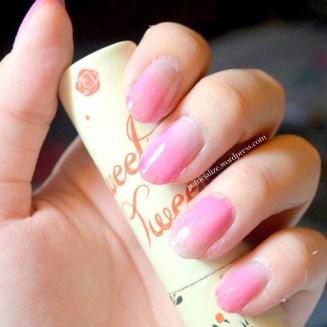 Gradient Nail Art Tutorial | My Dandelion Dreams