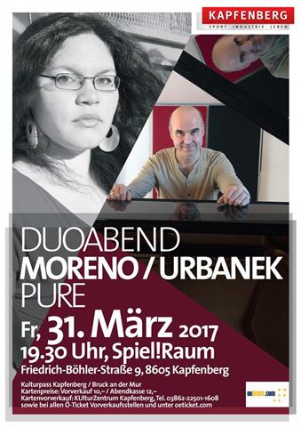 Patricia Moreno & Paul Urbanek live in concert