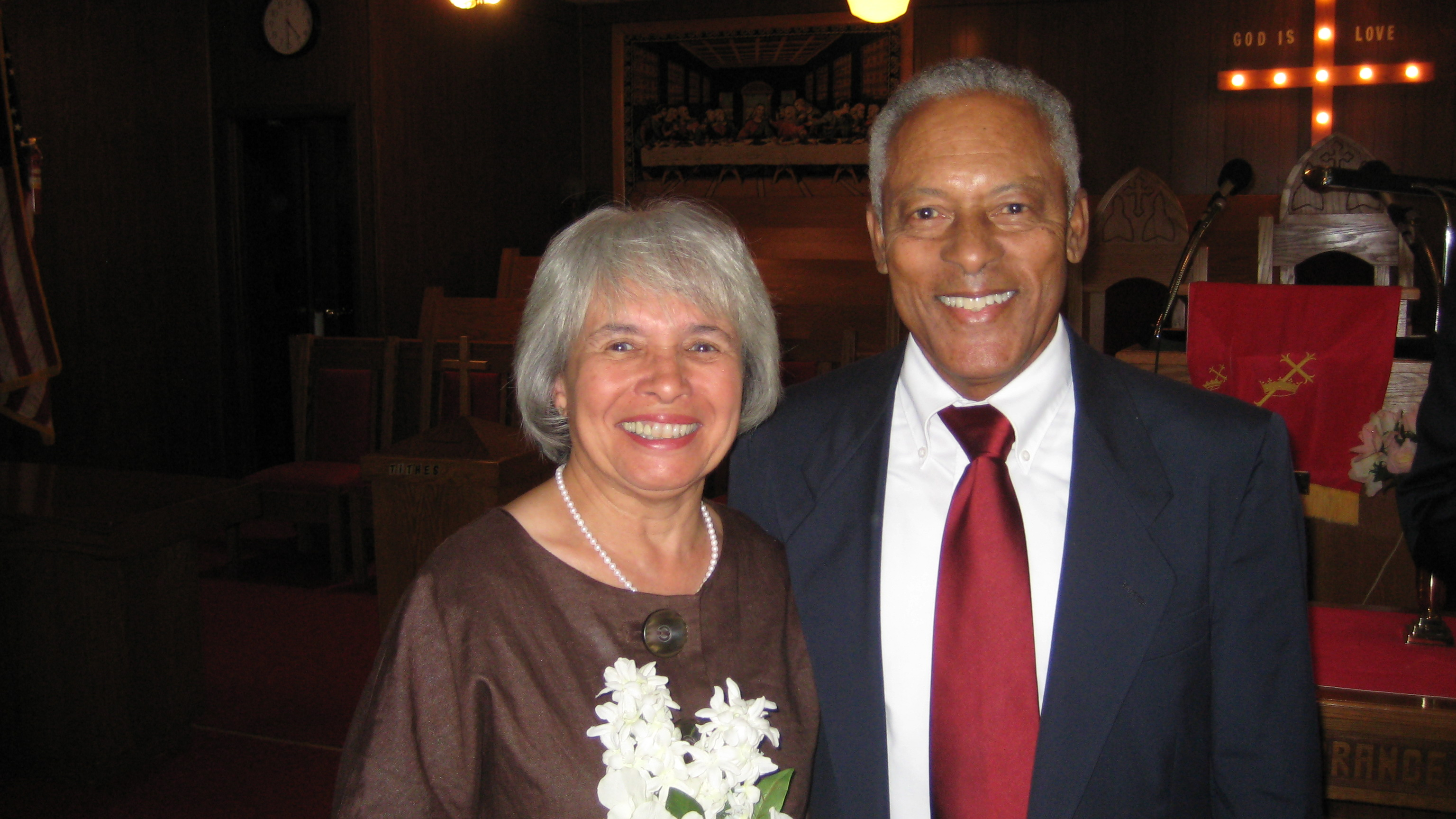 Mom and Dad -- 46 years of marriage