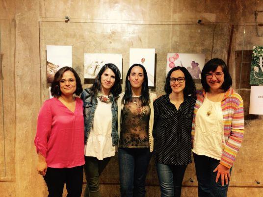 Participantes en la mesa redonda. De izquierda a derecha: Patricia Roncallo, Sara Furtado, Raquel Besora, Norma Grau, Ana Pía López