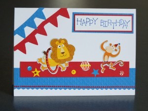 Child's bithday card
