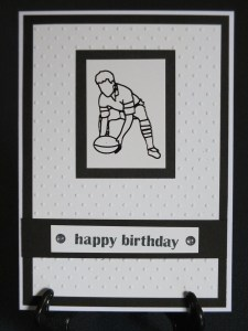 All Blacks card