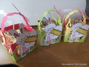 Easter goodies made from the CTMH Artiste Cartrige