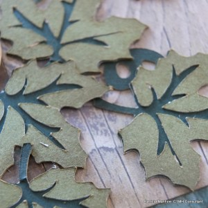 Close up of Artbooking leaves