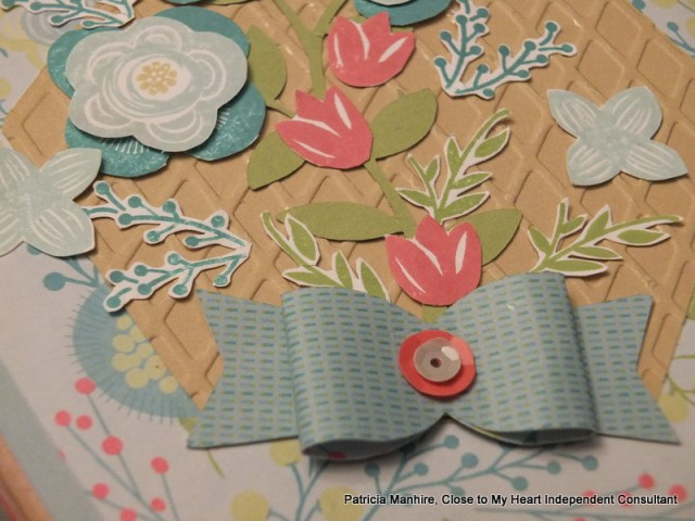 #CTMH Blossom papers with Shower Flowers
