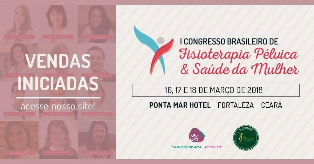 Resultado de imagem para I Congresso de Fisioterapia Pélvica e Saúde da Mulher
