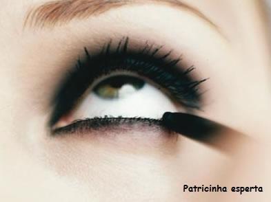 maquiar para festa - Poderoso olhão preto....