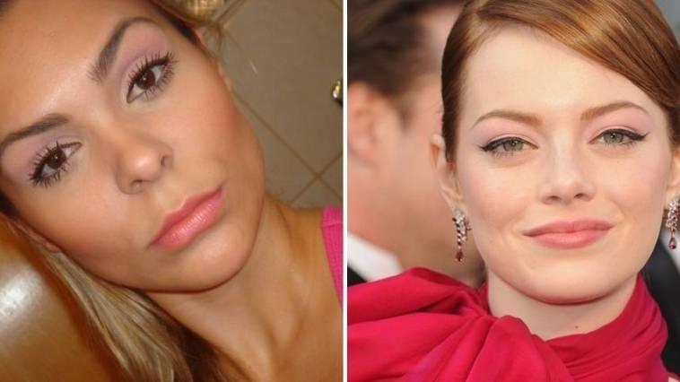 capaemma - Tutorial - Maquiagem inspirada na atriz Emma Stone - Oscar 2012