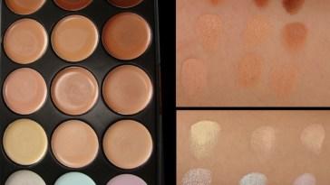 Patricinha Esperta32 - Paleta de corretivos – 15 cores