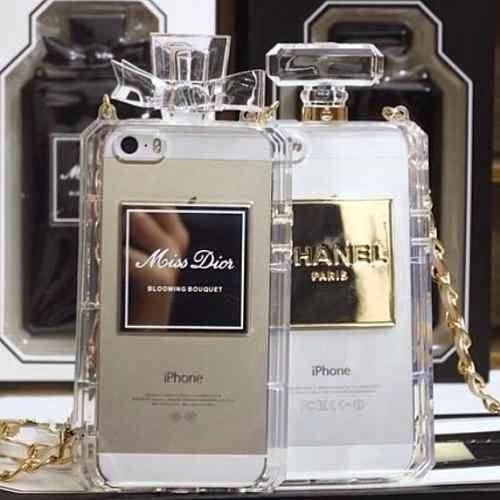 case capa para celular chanel frete gratis 14532 MLB20087341230 042014 O - Capinhas para Iphone modelos [2018]