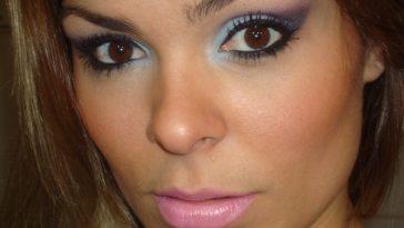017 - Tutorial - Maquiagem Colorida para o Inverno