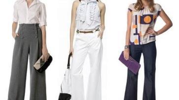 calcas pantalona fotos - Dossiê da moda – Peças que valorizam quem tem pernas curtas