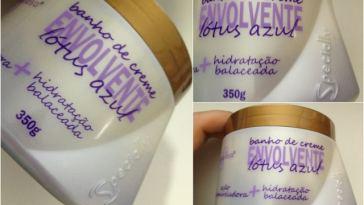 2012 09 26 - Banho de Creme Desamarelador Lótus Azul - Specially