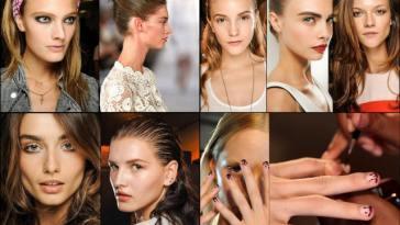 Colagens31 - Beleza e Cabelos da Semana de Moda de New York!