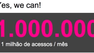 slide81 - 1 Milhão de Visitantes Por Mês: Muito Obrigada!