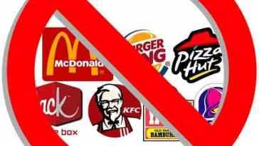 no fast food 1 - Abstinência de Comida, Já Ouviu Falar?