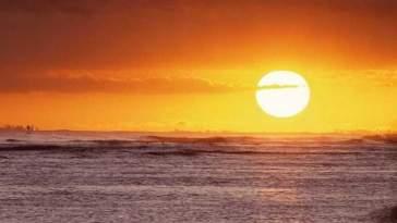 por do sol - Sol: Vilão Ou Mocinho?