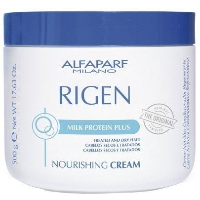 Alfaparf Rigen Mascara Nourishing Cream 500ml - Chega de Fios Ressecados