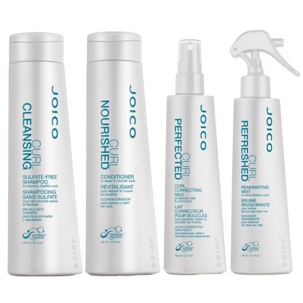 Joico Curl Kit Shampoo 300ml Condicionador 300ml Milk Spray 150ml e Refreshed Leave in 150ml  621x621 - Cabelos Crespos dos Sonhos!