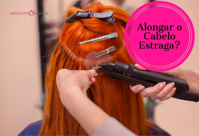 hairdresser does hair extensions to a young redhaired girl in a picture id6710189621 - Mega Hair Estraga o Cabelo?