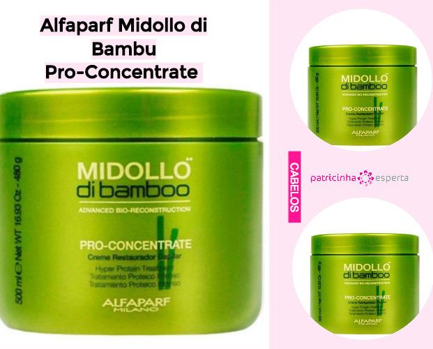 Alfaparf Midollo di Bambu Pro Concentrate - Produtos Para Cabelos Danificados: Favoritos de 2019 - Top 8