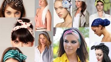 Lencos na cabeca Verao 2014 01 - Aprenda a usar lenços neste verão