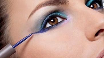 Mulher com maquiagem nos olhos - Maquiagem que Disfarça As Rugas!