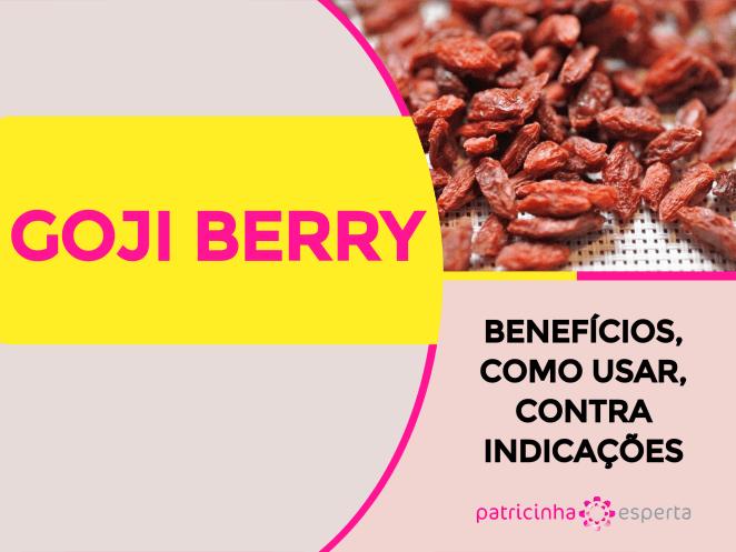 Goji Berry - GOJI BERRY 12 Benefícios, Como Usar, Contra Indicações