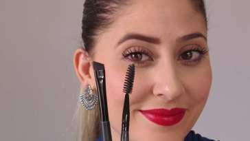 Preencher as sobrancelhas 1 - Como preencher sobrancelha facilmente - em vídeo
