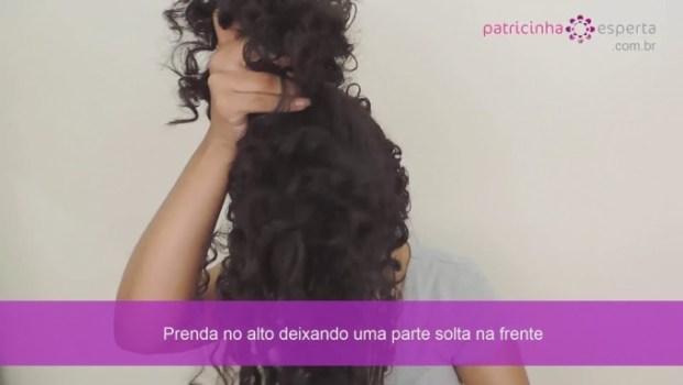 IMG 0019 680x383 - Penteado para cabelo cacheado, super fácil em vídeo!