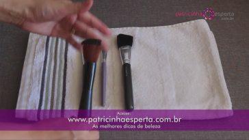 IMG 0039 - Como Lavar Pincéis de Maquiagem em vídeo