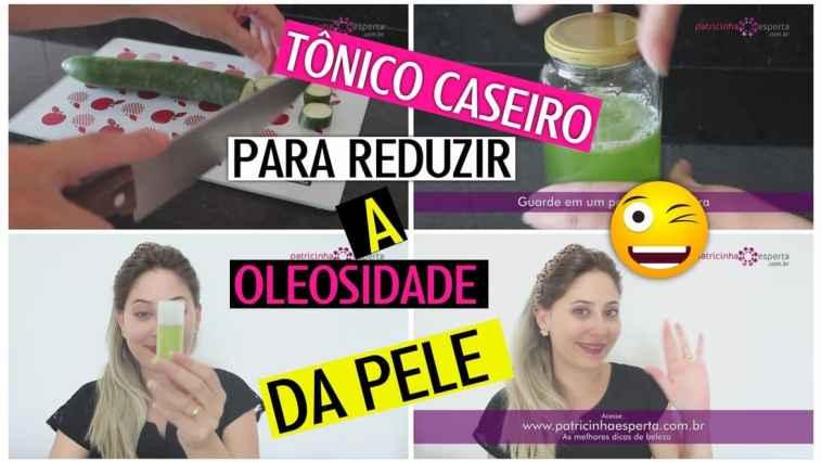 3u00ba Miniatura - Tônico Caseiro para Reduzir a Oleosidade da Pele