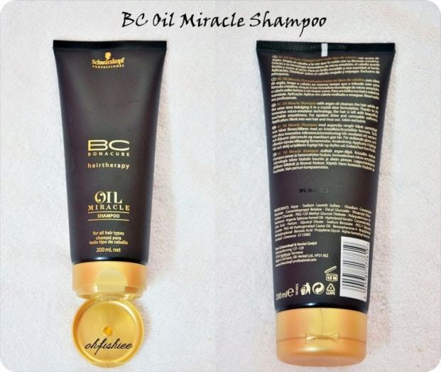 s7 - Bonacure Oil Miracle Gold Shimmer Resenha