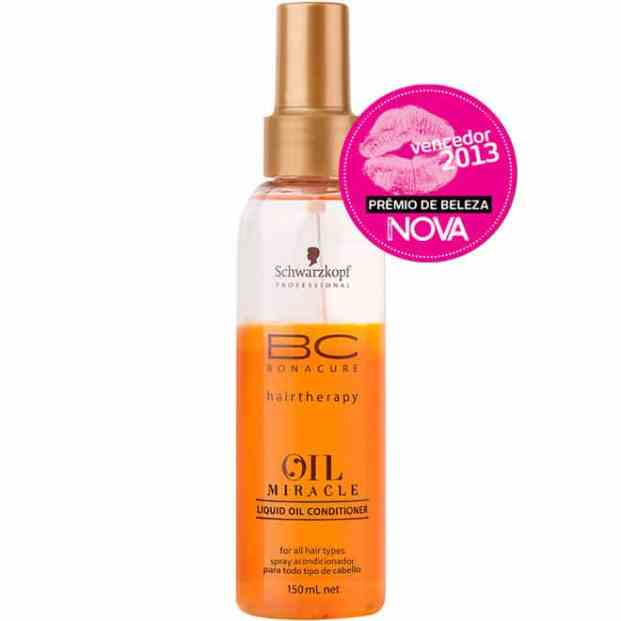 schwarzkopf bc oil miracle spray conditioner condicionador leave in 150ml 12669 - Bonacure Oil Miracle Gold Shimmer Resenha