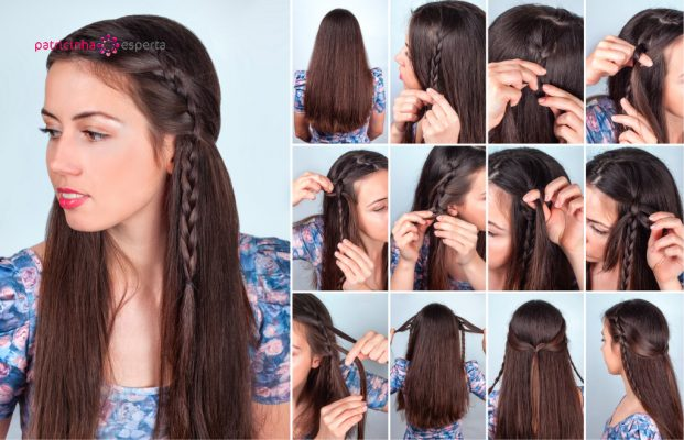 hairstyle braided hair tutorial backstage picture id527544466 621x400 - Penteados Para Madrinhas De Casamento 2017