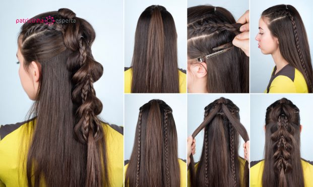 hairstyle plait for party tutorial picture id635969894 621x371 - Penteados Para Madrinhas De Casamento 2017