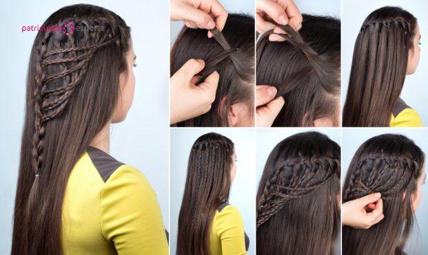 hairstyle plaits tutorial picture id629074508 621x371 - Penteados Para Madrinhas De Casamento 2017