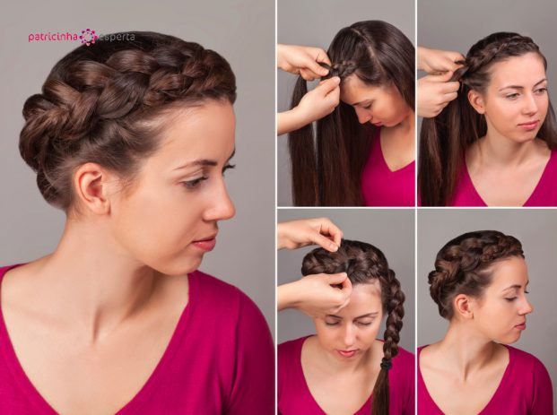 simple braid hairstyle tutorial picture id520491204 621x463 - Penteados Para Madrinhas De Casamento 2017
