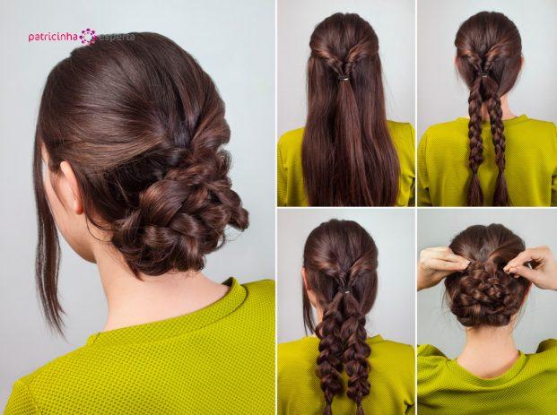simple hairdo tutorial picture id516849168 621x463 - Penteados Para Madrinhas De Casamento 2017