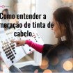 woman choosing hair color from palette at salon picture id498457222 - Como entender a numeração de tinta de cabelo