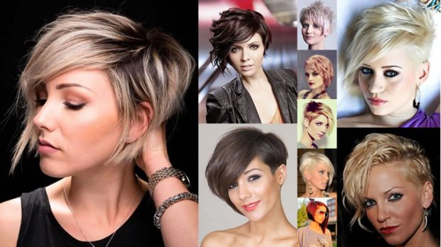 Asymmetrical Short Hair Style 2018 621x349 - Penteados Verão 2018 Tendências