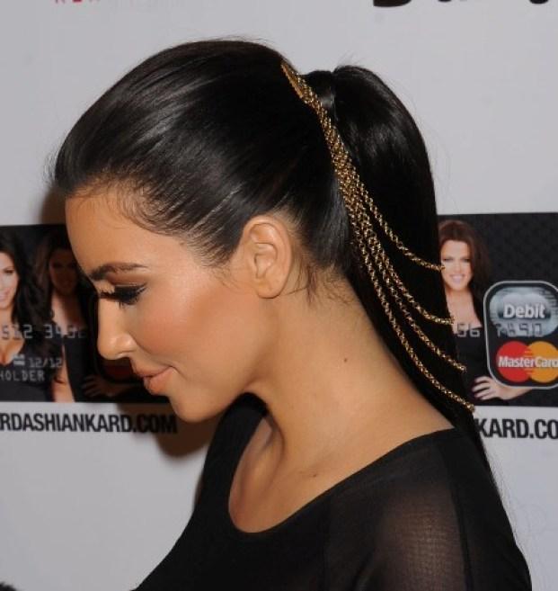 kim kardashian hairstyle1 - Penteados Verão 2018 Tendências