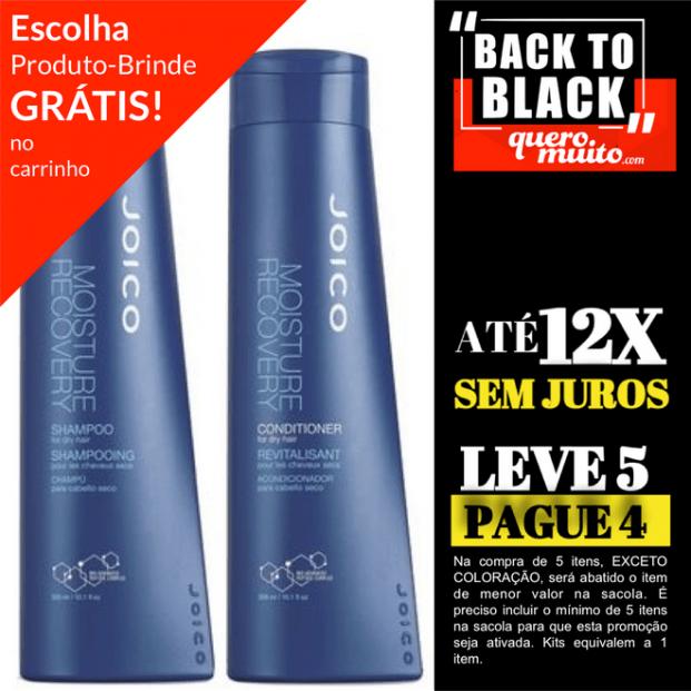 moisture recovery kit back to black 621x621 - Back To Black Joico Na QueroMuito