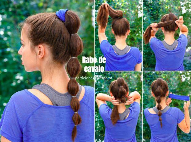 simple hairstyle for sports tutorial picture id590078088 621x463 - Penteados Verão 2018 Tendências